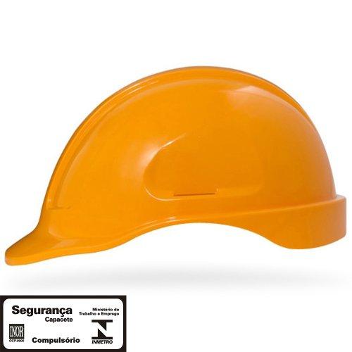 capacete de segurança amarelo manga turtle sem suporte