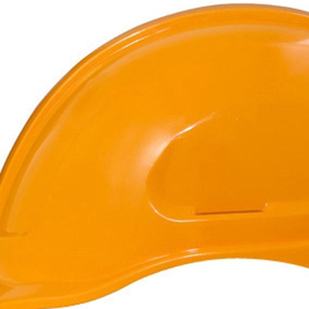 Capacete de Segurança Amarelo Manga Turtle sem Suporte - Imagem zoom