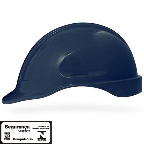 capacete de segurança azul marinho turtle sem suporte