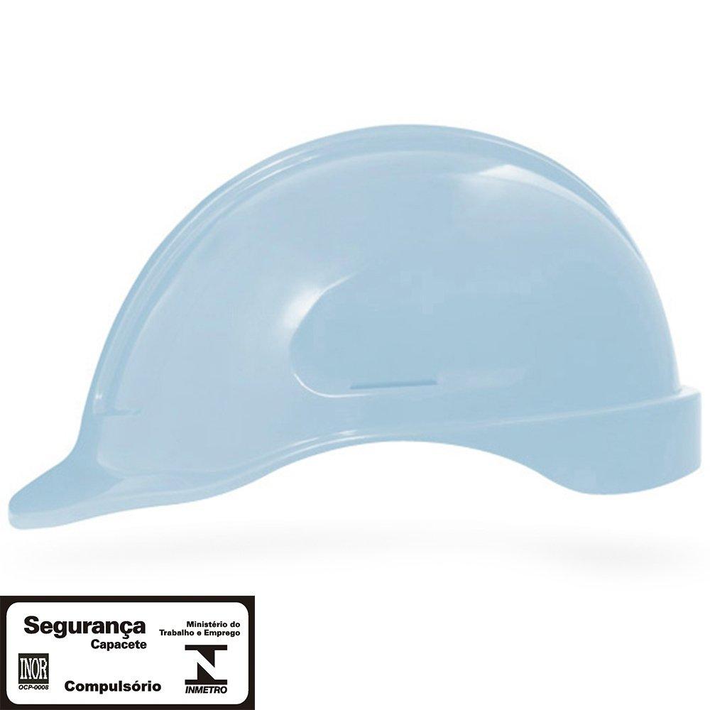 4d1d1ac56a1df Capacete de Segurança Azul Pastel Turtle sem Suporte - STEELFLEX-STF ...