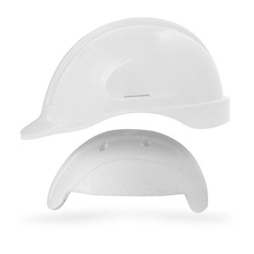 capacete de segurança branco turtle com absorvedor de impacto