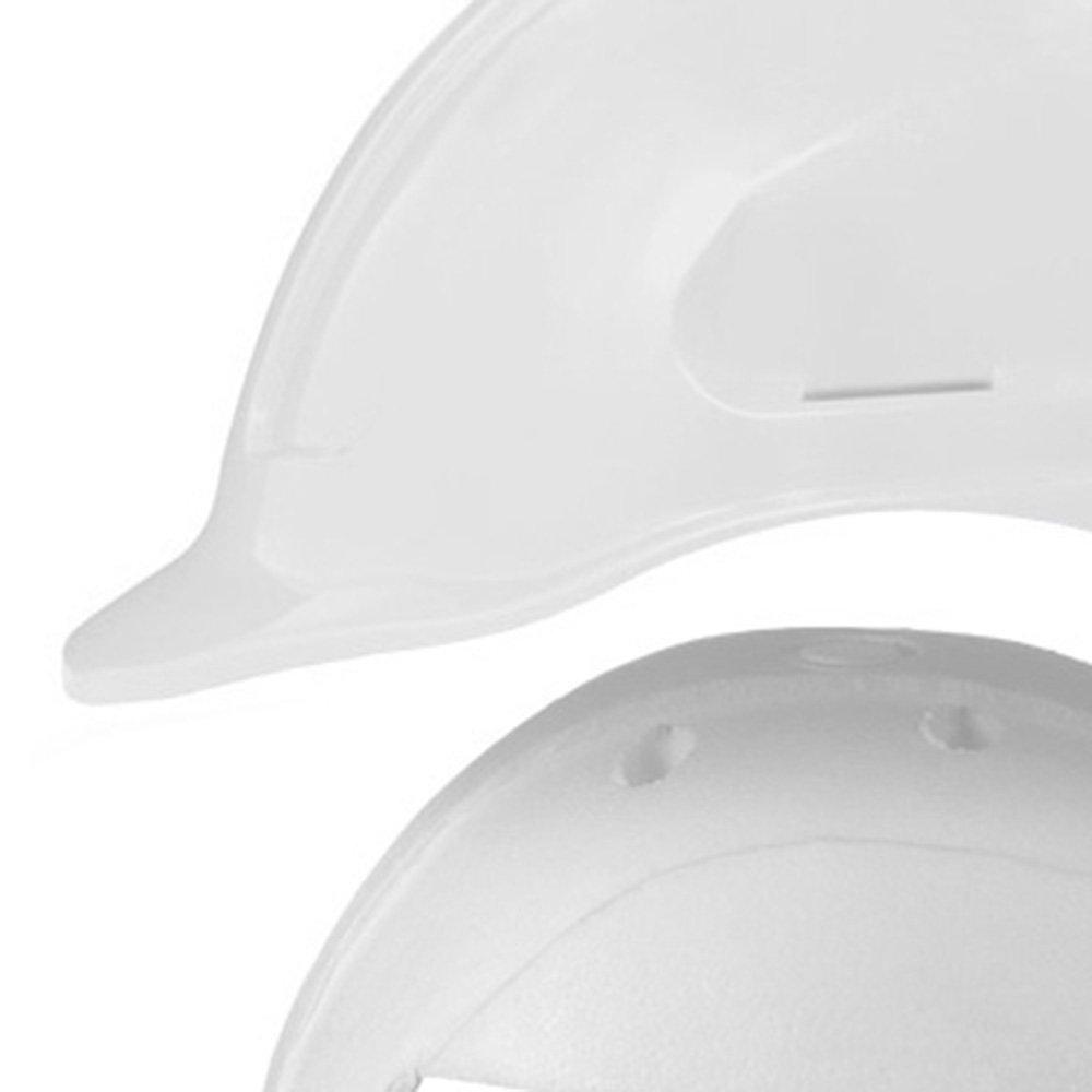 Capacete de Segurança Branco Turtle com Absorvedor de Impacto - Imagem zoom