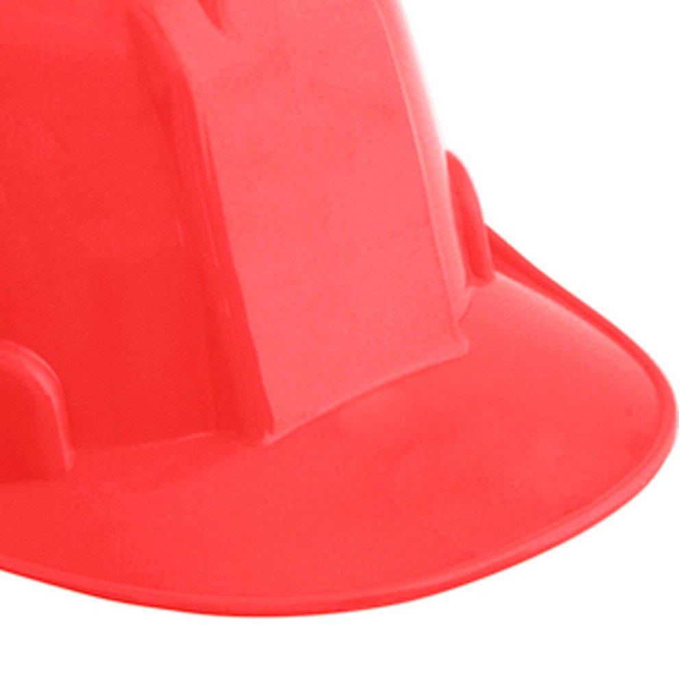Capacete de Segurança Vermelho com Carneira - Imagem zoom