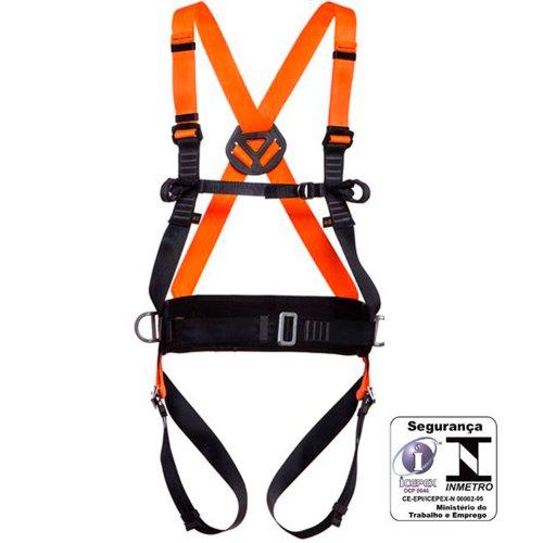 cinturão de segurança tipo paraquedista contra quedas com regulagem total
