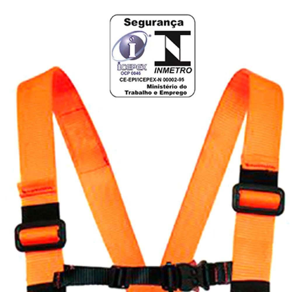 Cinturão de Segurança Abdominal tipo Paraquedista com Engate Rápido - Imagem zoom