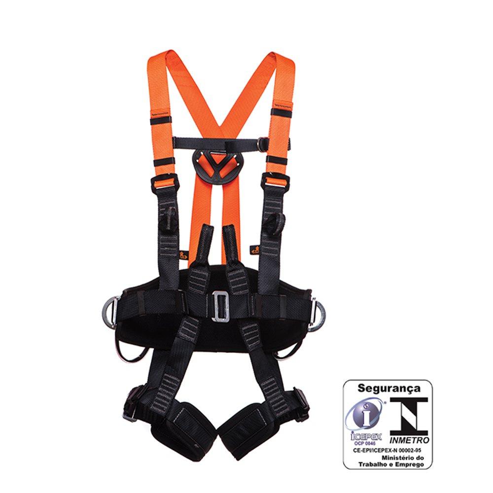 e6bf3d3f6f458 Cinturão Paraquedista   Abdominal Eletricista Engate Automático - Imagem  zoom