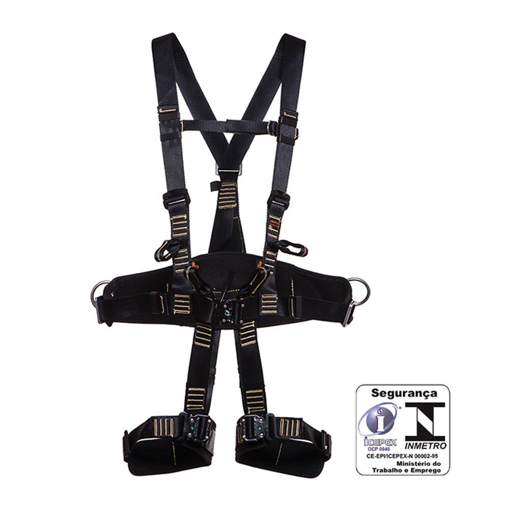 Cinturao Paraquedista / Abdominal Eletricista com Engate Rápido Anti Chama - Imagem zoom