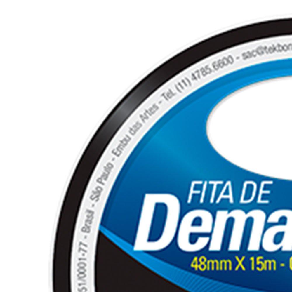 Fita de Demarcação Preta 48mm x 15m - Imagem zoom