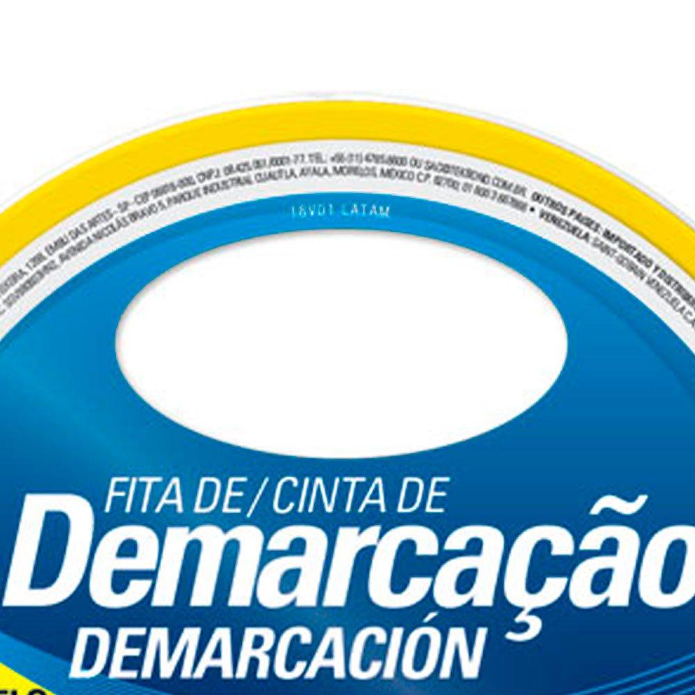 Fita de Demarcação Amarela 48mm x 15m - Imagem zoom