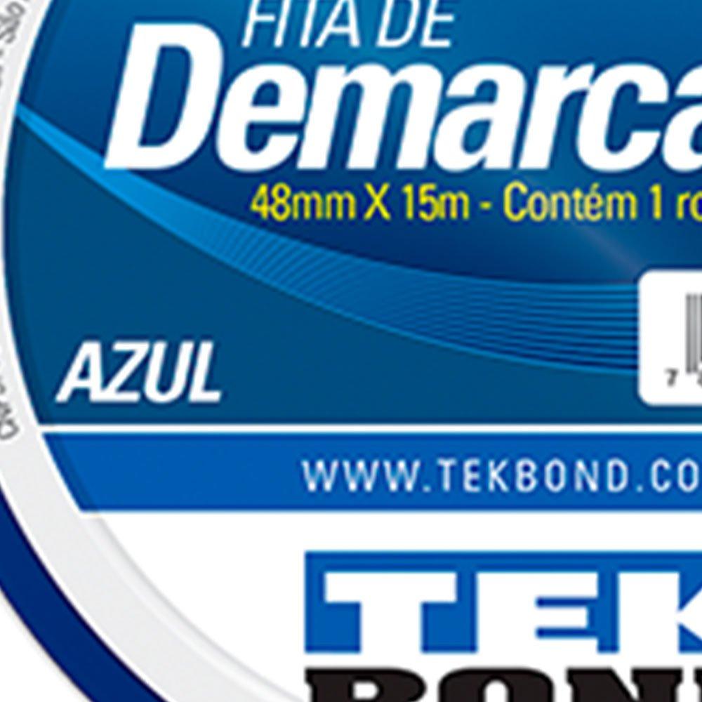 Fita de Demarcação Azul 48mm x 15m - Imagem zoom
