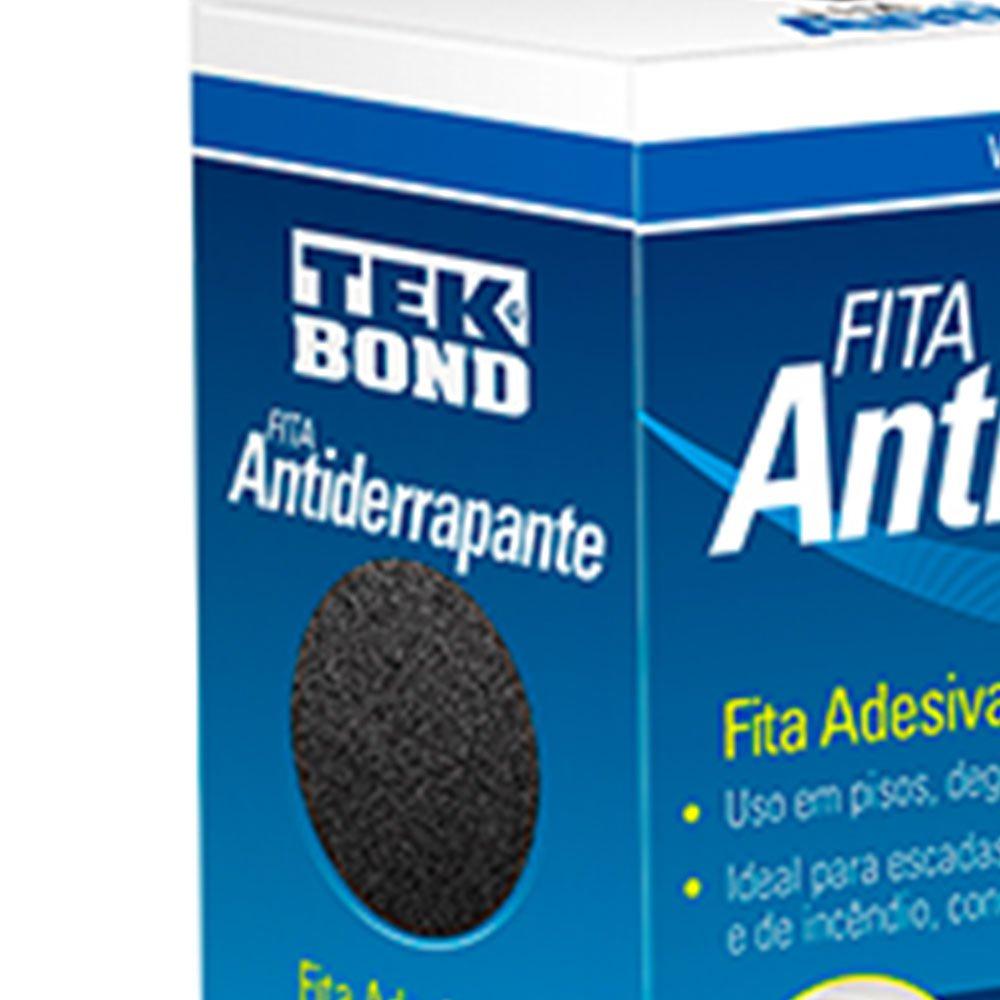 Fita Antiderrapante Preta 50mm x 5m - Imagem zoom