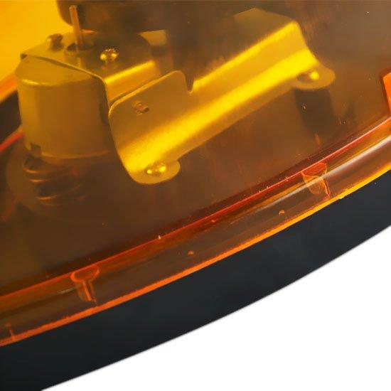 Luz de Emergência Giroflex Amarela 12v Oval - Imagem zoom