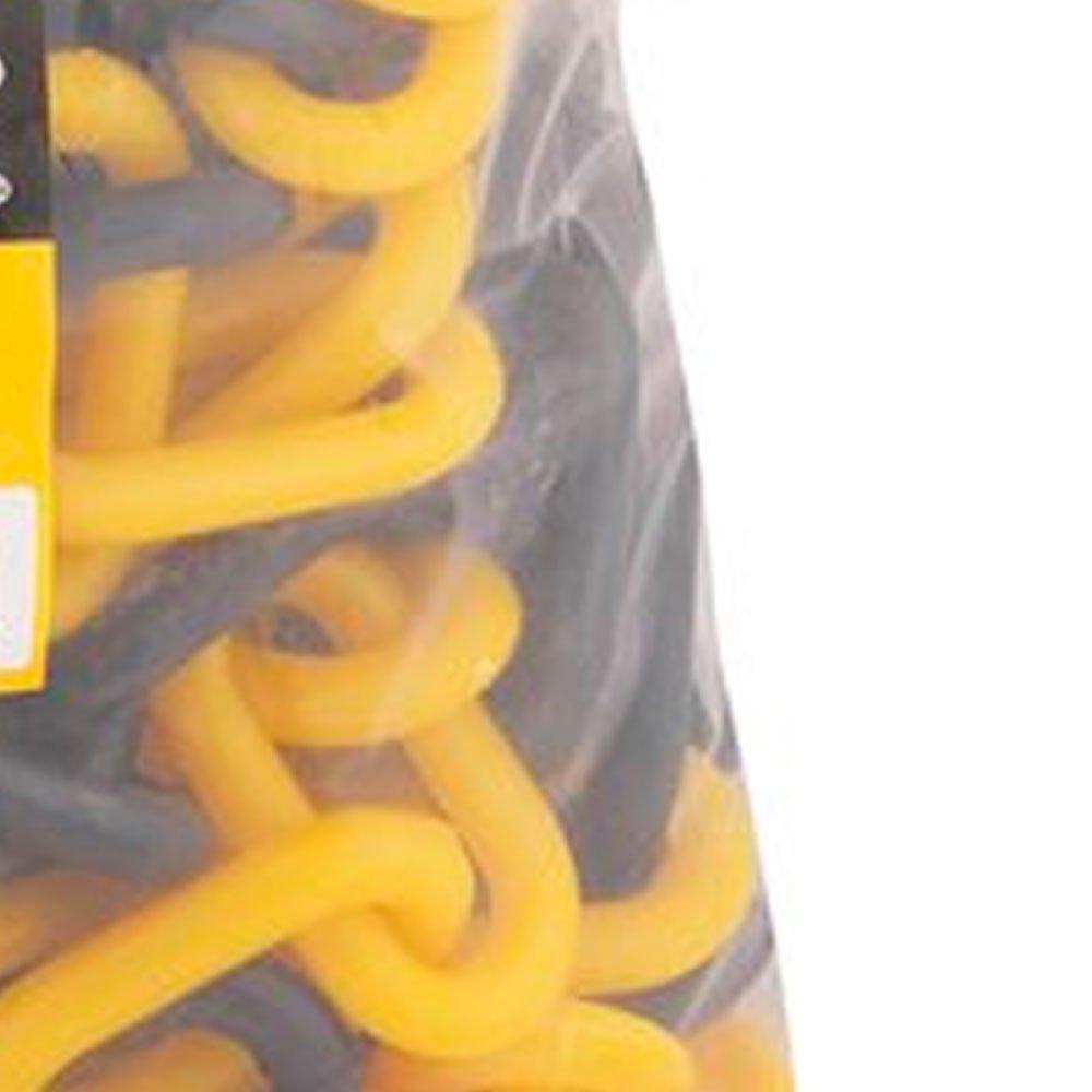 Corrente Plástica Amarela e Preta 5,5 x 6m - Imagem zoom