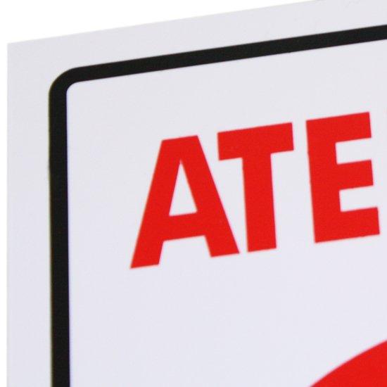 Placa Sinalizadora Atenção Garagem  - Imagem zoom