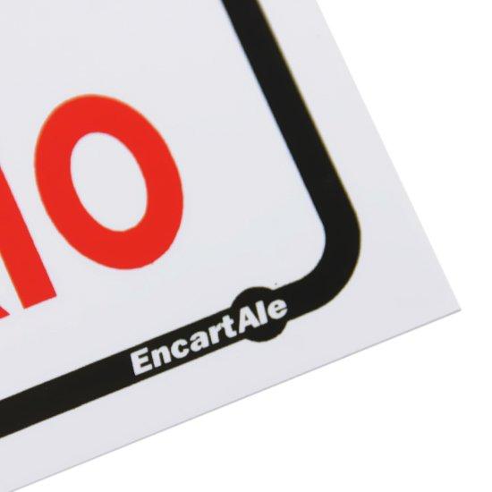 Placa Sinalizadora Atenção Uso Obrigatório  - Imagem zoom