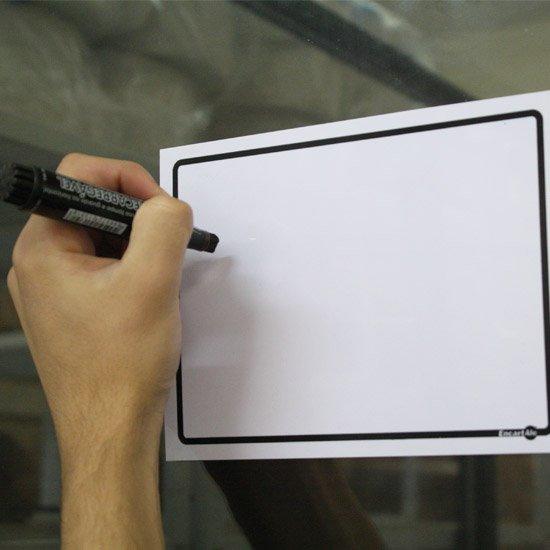 Placa Sinalizadora em Branco (Sem texto) - Imagem zoom