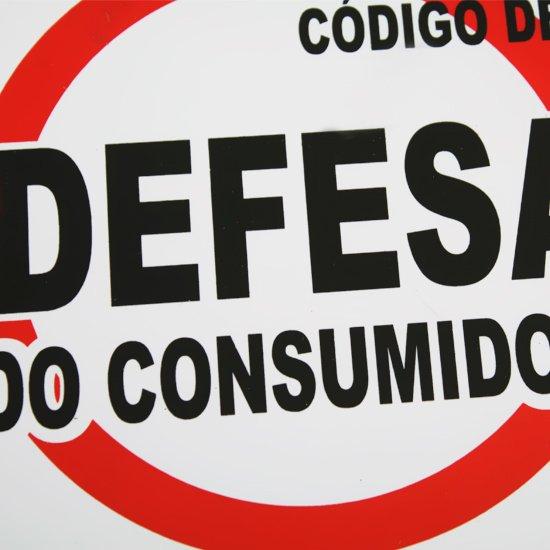 Placa Sinalização Código Defesa Consumidor  - Imagem zoom