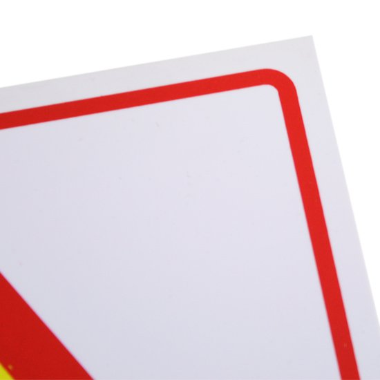 Placa Sinalizadora Cuidado Altamente Inflamável  - Imagem zoom