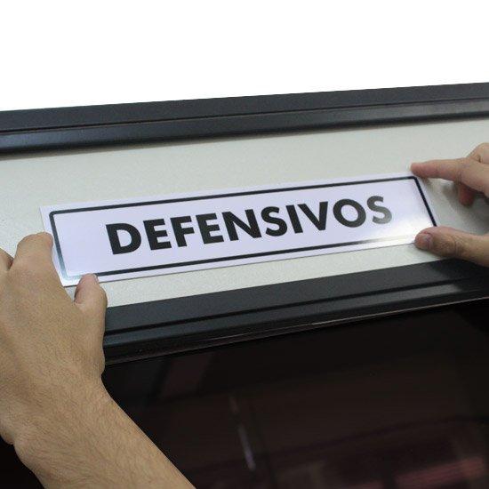 Placa Sinalizadora para Defensivos - Imagem zoom