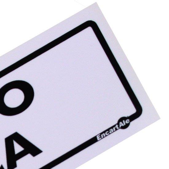 Placa Sinalizadora de Departamento de Cobrança - Imagem zoom