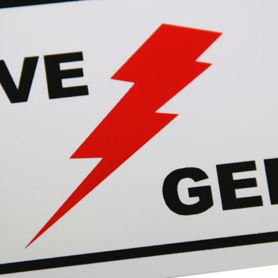 Placa Sinalizadora para Eletricidade Chave Geral  - Imagem zoom