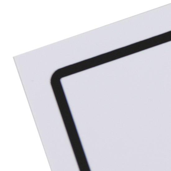 Placa Sinalizadora de Entrada Bilíngue - Imagem zoom