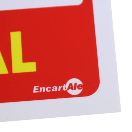 Placa Sinalizadora para Extintor Uso Geral - Imagem zoom
