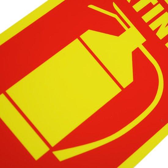 Placa Sinalizadora Extintor Água Pressurizada  - Imagem zoom