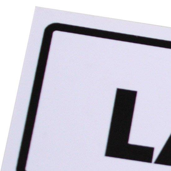 Placa Sinalizadora para Laboratório - Imagem zoom