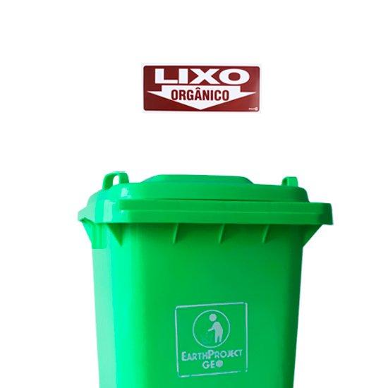 Placa Sinalizadora para Lixo Orgânico - Imagem zoom