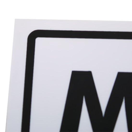 Placa Sinalizadora de Manutenção - Imagem zoom