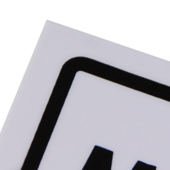 Placa Sinalizadora para Materiais e Ferramentas - Imagem zoom