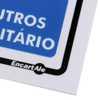 Placa Sinalizadora de Não Urine no Chão - Imagem 3