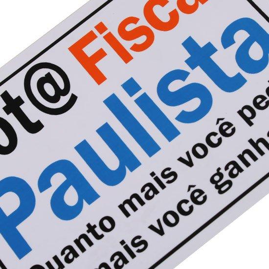 Placa Sinalizadora Nota Fiscal Paulista  - Imagem zoom