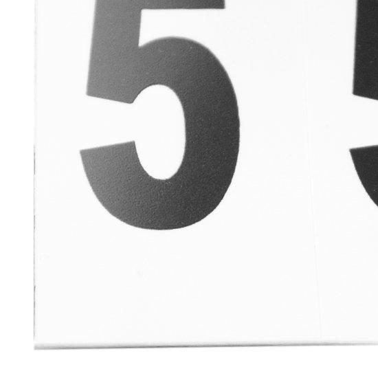 Plaqueta Numérica Número 5 com 10 Peças Destacáveis - Imagem zoom