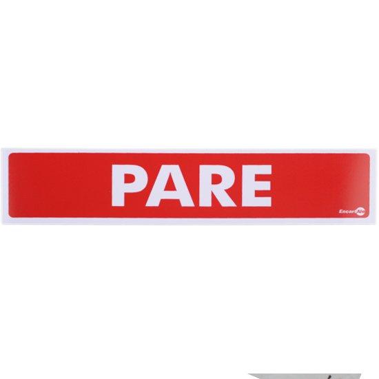 Placa Sinalizadora de Pare - Imagem zoom