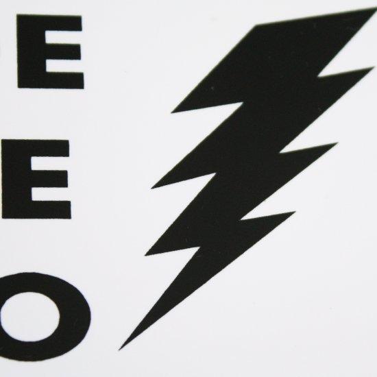 Placa Sinalização Perigo Risco de Choque Elétrico  - Imagem zoom