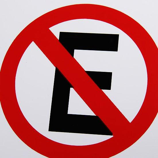 Placa Sinalização Proibido Estacionar 20 x 30 cm  - Imagem zoom