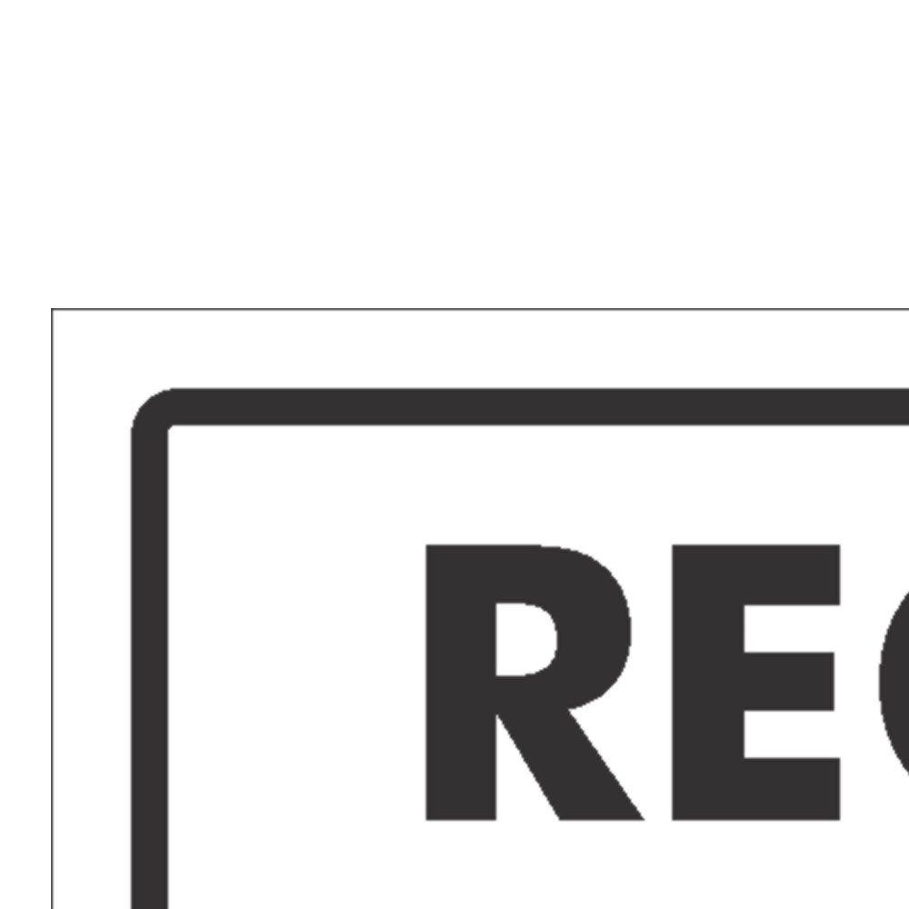 Placa Sinalizadora Recebimento - Imagem zoom