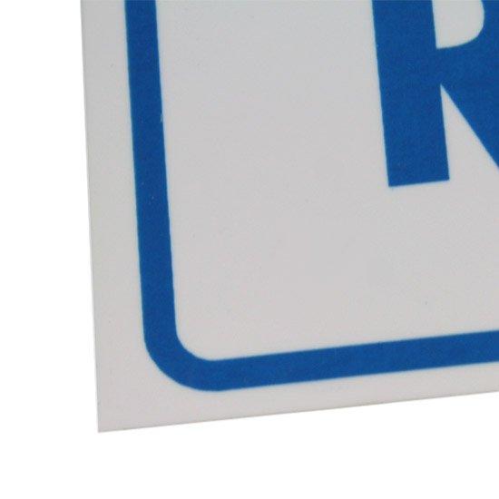 Placa Sinalizadora para Relógio (Água) - Imagem zoom