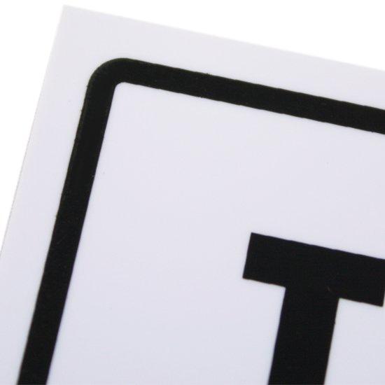 Placa Sinalizadora para Telemarketing - Imagem zoom