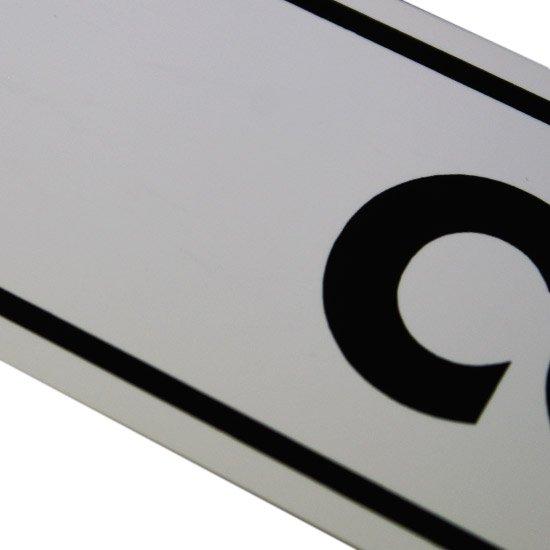 Placa Sinalizadora Correio   - Imagem zoom