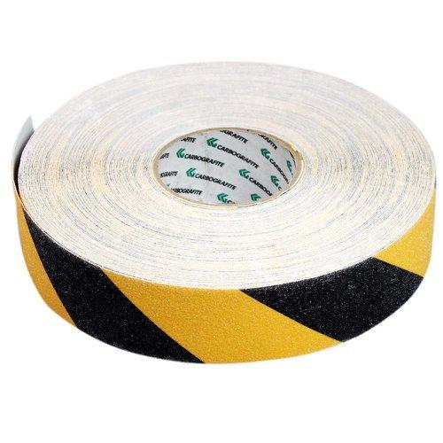 fita adesiva antiderrapante preta e amarela 50mm x 45m