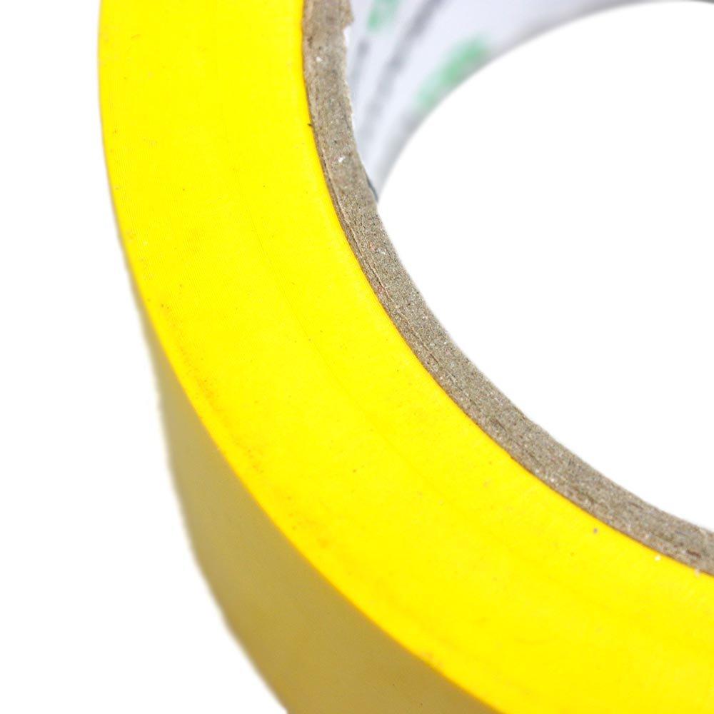 Fita Adesiva de Demarcação Amarela 50mm x 30m - Imagem zoom