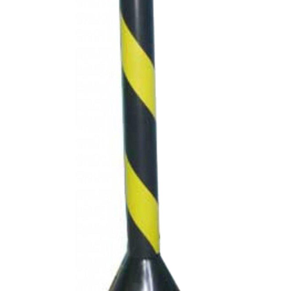 Pedestal Plástico CG 90 Preto/Amarelo - Imagem zoom