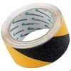 Fita Adesiva Antiderrapante Preta e Amarela 5 Metros - Imagem 1