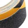 Fita Adesiva Antiderrapante Preta e Amarela 5 Metros - Imagem 5