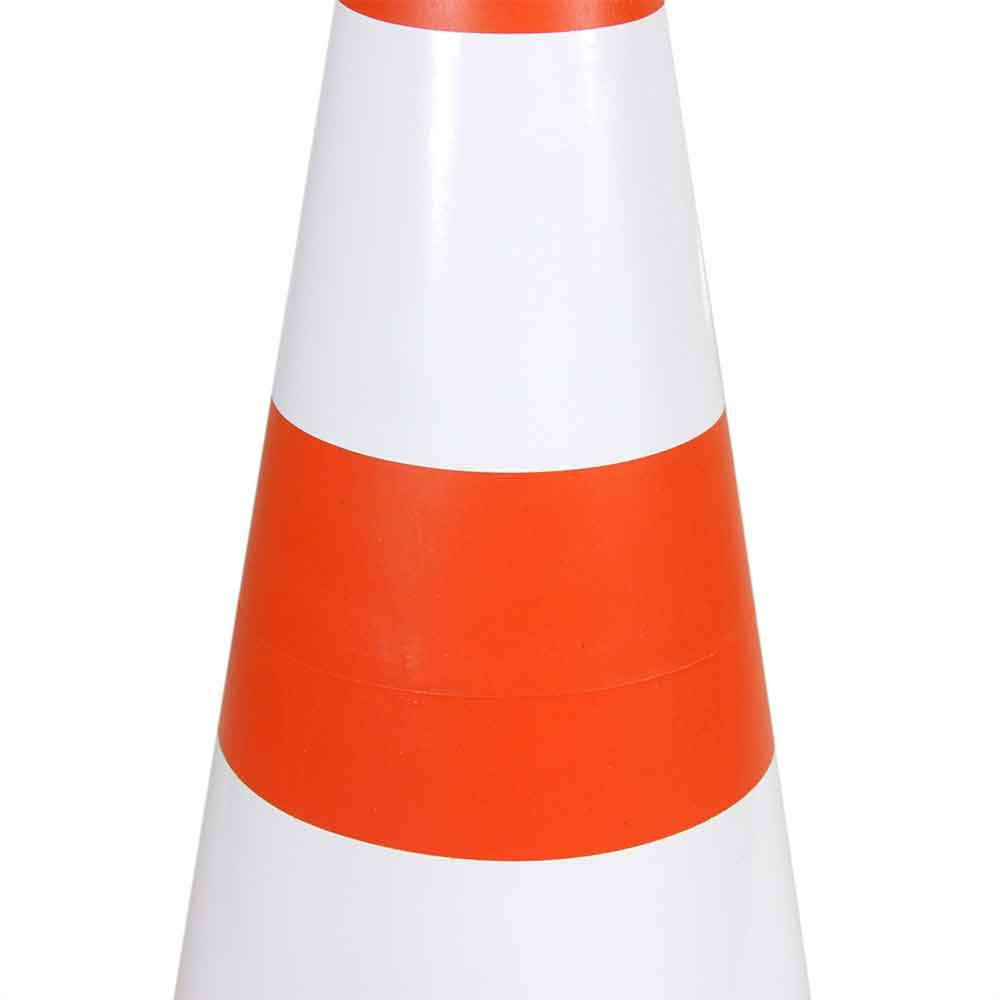Cone Sinalizador 50cm Laranja e Branco - Imagem zoom