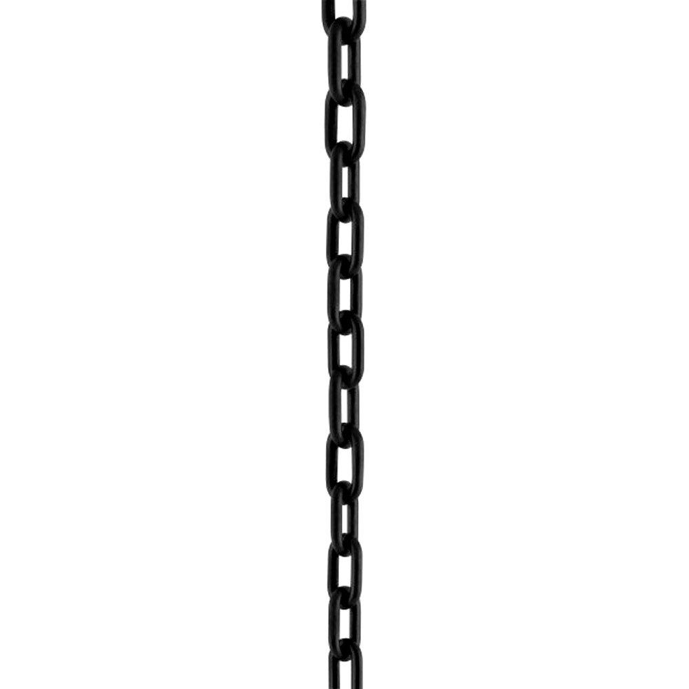 Corrente De Sinalização Elo G Preta 50 Metros - Imagem zoom