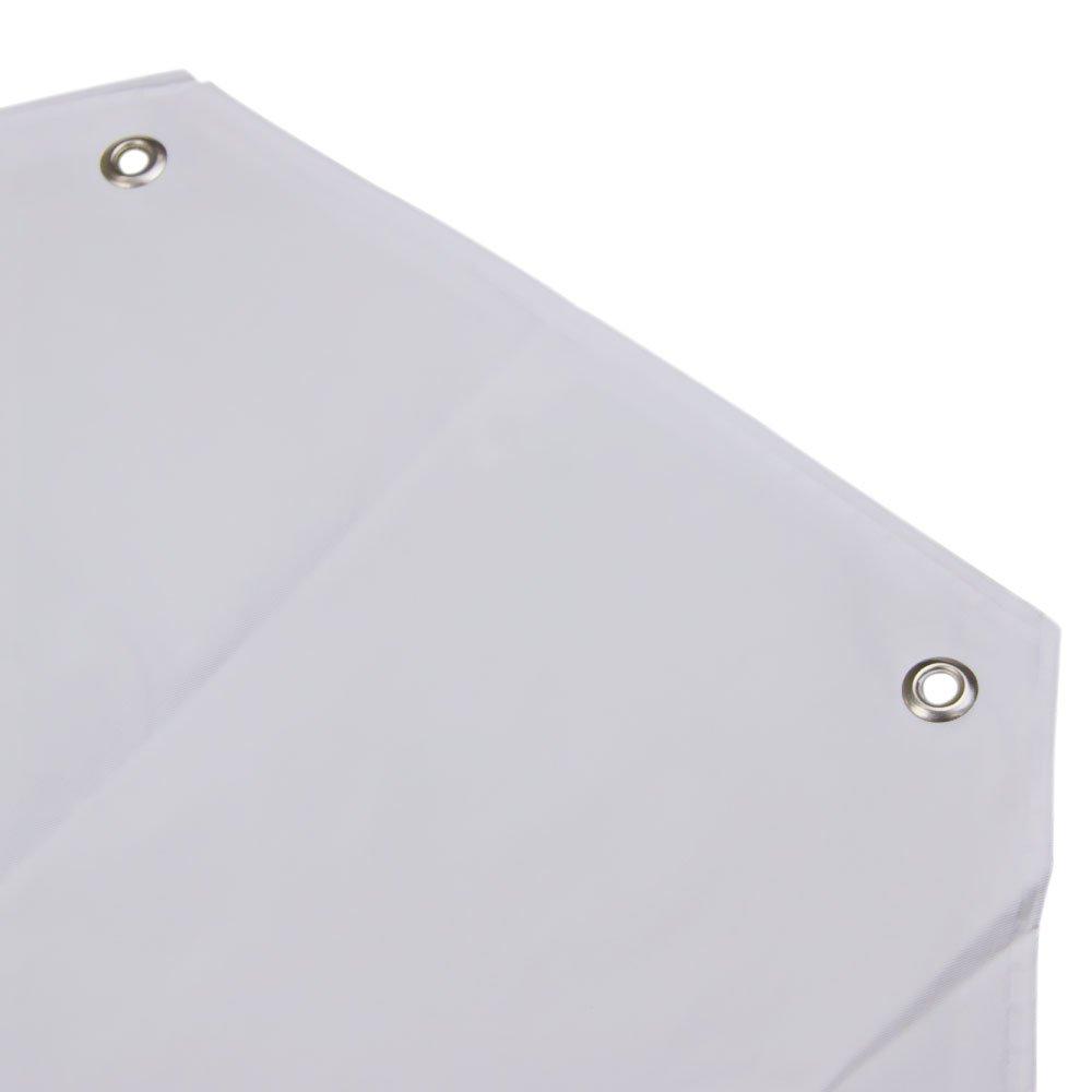 Avental Branco de PVC 70 x 120 cm com Forro de Poliéster - Imagem zoom